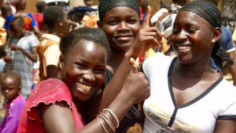 Bedrijvige Vrouwen gelooft in Go Girl Ghana