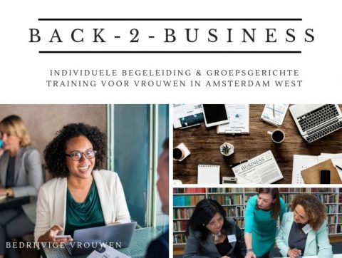 Back-2-Business trainings/coachingstraject